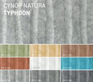 Фиброцементная плита Cynop Natura (Typhoon)