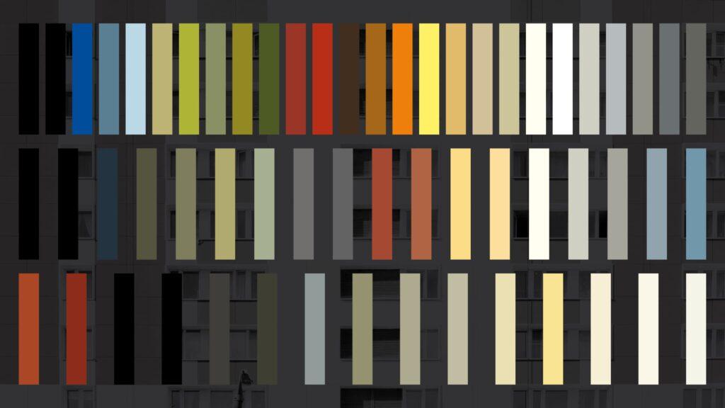 Фиброцементный фасад Cembrit Colourful