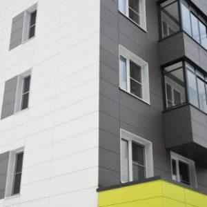 фиброцементный вент фасад Украина