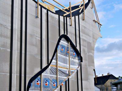 Фиброцементный фасад Windstopper Basic